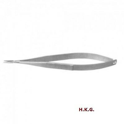 65-562, Castroveijo Needle Holder Straight Without Lock 140 MM Ophthalmology.