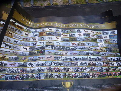 THE RACE THAT STOPS A NATION Poster LTD Melbourne Cup PHAR LAP MAKYBE DIVA print