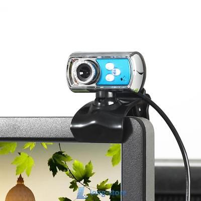 HD 12.0MP 3 LED USB Webcam Camera with Microphone MIC &Night Vision for Computer