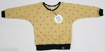 BNWT KUKUKID UNISEX FOOT PRINT JUMPER 3-4 YEARS (98-104cm) MADE IN POLAND