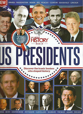 All About History Book of US PRESIDENTS 2nd Edition # JFK NIXON OBAMA REAGAN ETC