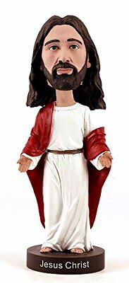 Jesus Bobblehead V2 Christ Figure Hand Painted Religious Collectibles