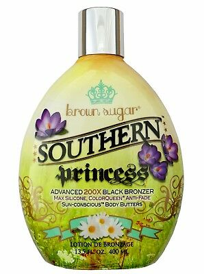 Tan Incorporated SOUTHERN PRINCESS Advanced 200X Black Bronzer Same Day Dispatch