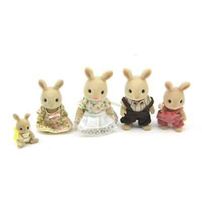 Sylvanian Families Milk Rabbit Family Includes Baby FREE Postage