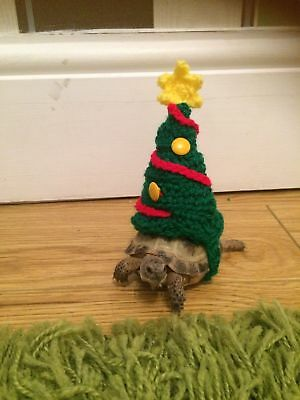 crochet christmas tree outfit jumper tortoise reptile cozy photo props
