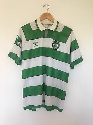 Retro CELTIC 1992/93 Home Football Shirt (M) Vintage Scotland Soccer Jersey Top