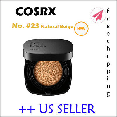 COSRX Clear Fit Blemish Cushion # 23 Natural Beige (NEW) - US SELLER