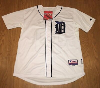 Detroit Tigers Torii Hunter Jersey Majestic Authentic Cool Base sz 50 NEW W/TAGS