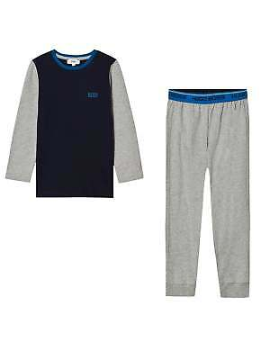 Hugo Boss Boys Navy & Grey Pyjama Set