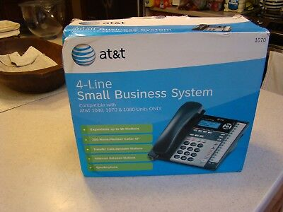 AT&T 1070 4 Line Small Business System Comp w 1040 1070 1080 Never out of Box