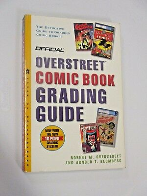 Overstreet Comic Book Grading Guide Cgc