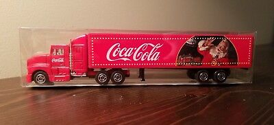 "2012 Coca Cola Christmas Holiday Truck Santa 7"" Model:  ADU263"