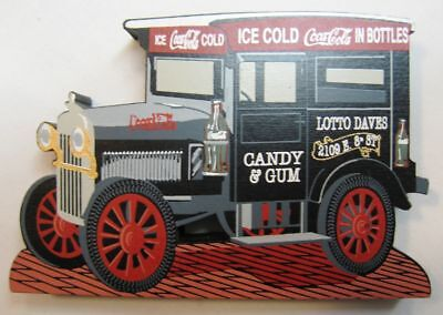 Coca Cola Wood Delivery Truck by Shelia's - NIB - 1998