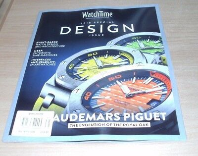 WatchTime magazine 2018 The World of Fine Watches; Special Design Issue