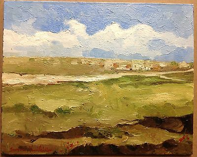 Original Oil Painting California Artist Impressionism with Certificate.