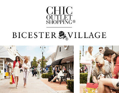 10% Discount at Bicester Village – INSTANT Delivery within 15 minutes