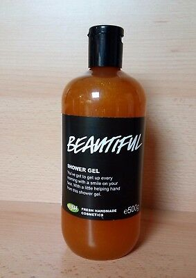 NEW - LUSH Beautiful Shower Gel 500g - DISCONTINUED