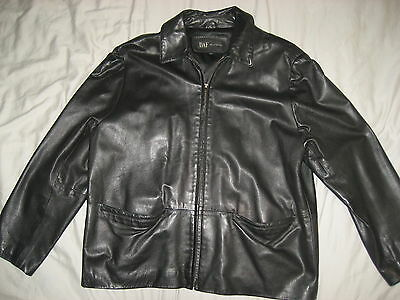 Womens black leather jacket soft large  gorgeous! Must see!