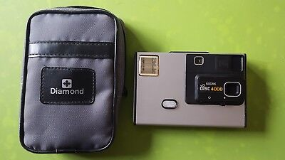 Kodak Vintage Disc 4000 Disc Camera Photography Photo and case