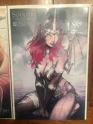 Soulfire Grace #1d SDCC Variant Limited Edition 1:500
