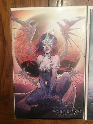 Soulfire Grace #1c SDCC Variant Limited Edition 1:500