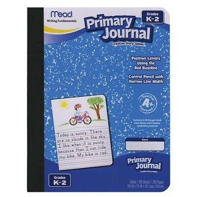Mead Writing Fundamentals Primary Journal