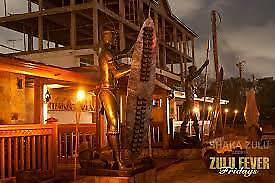 Shaka Zulu (South African) :Three Course meal & champagne cocktail for 2 people
