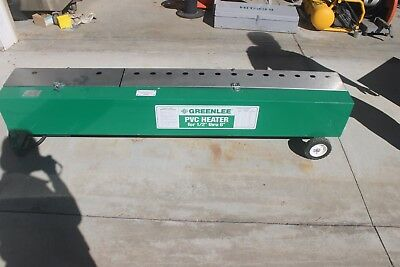 """NICE Greenlee 848 1/2""""-6"""" Electric PVC Heater/Bender with Motorized PVC Rotation"""