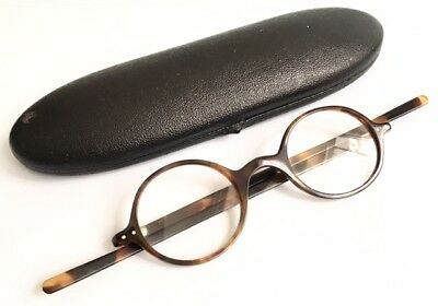 Vintage Faux Tortoise Shell Spectacles Vintage Eyeglasses Made In London 1930s