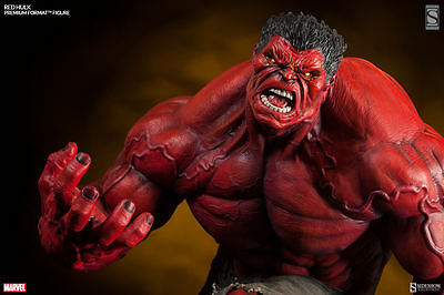 SIDESHOW Exclusive Incredible RED HULK PREMIUM FORMAT PF Figure Statue EX
