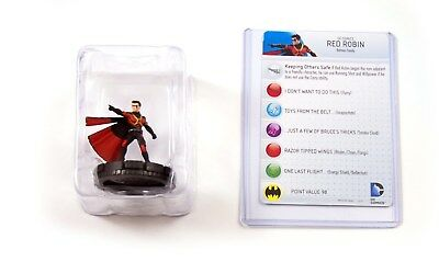 Heroclix Dc Comics Teen Titans, Red Robin #201, Booster Fresh in Tray