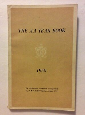 Vintage The AA Year Book 1950. Architectural Association London.