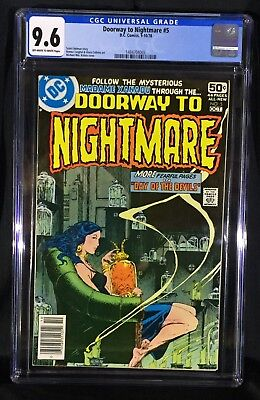 Doorway to Nightmare 5 (CGC 9.6) Classic Cover, Madame Xanadu