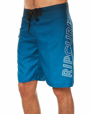 New Rip Curl Men's Undertow Shock 21 Mens Boardshort Suede Fitted Blue