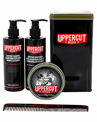 New Uppercut Men's Matt Pomade Combo Limited Edition Tin