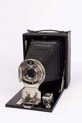 "Pocket Seneca N.29 - 4x5"" folding plate camera."