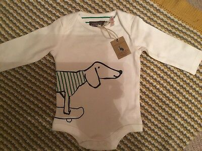 Joules Unisex Baby Grow 0-3 Months
