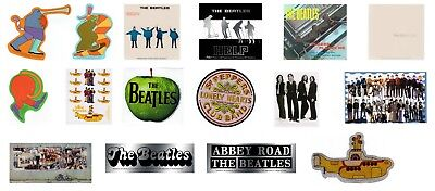 The Beatles Stickers Decals - Yellow Submarine Apple Help Lonely Hearts Official