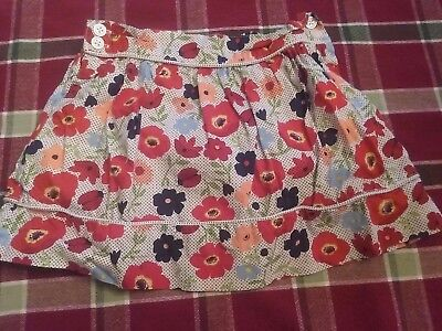Janie And Jack Girls Floral Skirt Size 2t