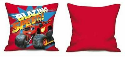 Blaze and the Monster Machines Childrens Pillow Cushion Red By BestTrend