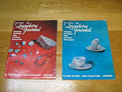 The Lapidary Journal, May 1962, Sept. 1962
