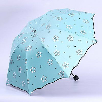 COLOR CHANGING Umbrella Auto Open Great Original Winter Gift Flower On Sale NEW