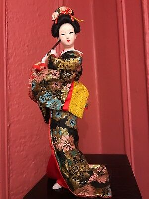 japanese doll 11.5 in with box