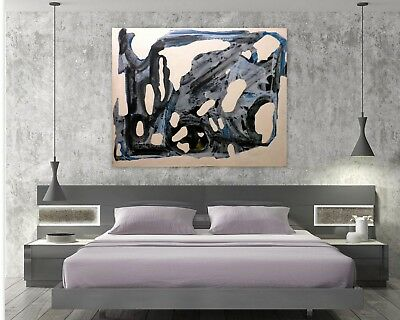 Ice Abstract Original Art Paintings Acrylic Huge 60 inches x 48 by Gerson