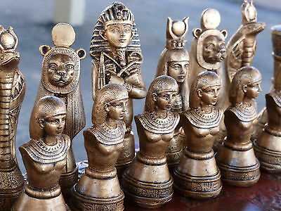 Egyptian Chess Sets: Customisable Colours (Pieces Only)
