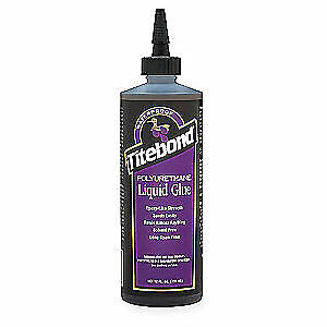 TITEBOND Wood Glue,Polyurethane,12 Oz,Brown, 2300, Brown