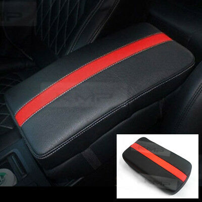 Sports Center Console Line Armrest Support Cushion Red For KIA 2014-2018 Soul