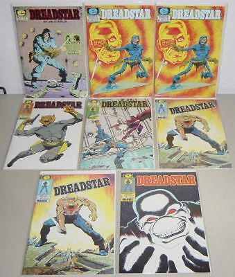 Dreadstar # 3 7 8 9 10 11 NM + 9.6 Bronze Age Lot of 8 $34+ ($1 Combine Ship)