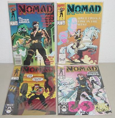 Nomad Limited Series # 1 2 3 4 NM 9.4 High Grade Lot (1990) $10+
