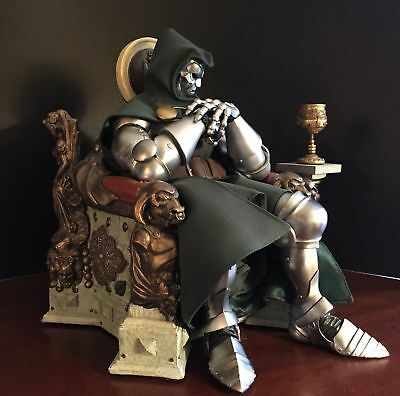 Sideshow Collectibles Exclusive Dr. Doom Premium Format Rare 053/1000
